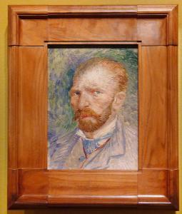 8 Van Gogh sja¨lvportra¨tt